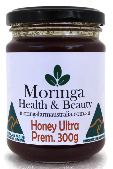 AUSTRALIAN Moringa HONEY 300G Premium. Made To Order