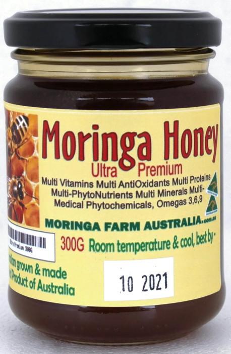 AUSTRALIAN Moringa HONEY 300G ULTRA Premium. Made To Order