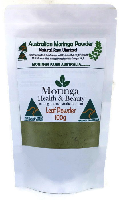 Moringa POWDER 100G - Made To Order. Delayed posting can be 1.5 to 3.5 weeks