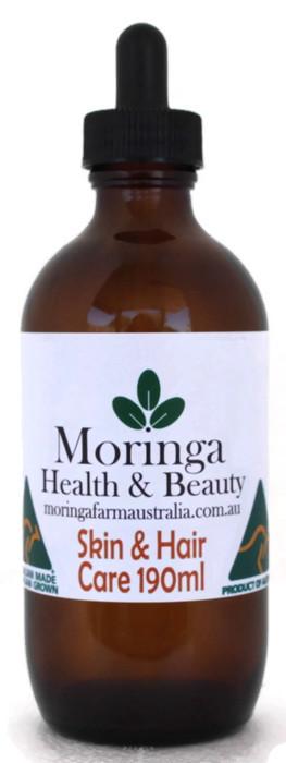 AUSTRALIAN Moringa SKIN CARE Hair Care 190ml - Pure Moringa seed oil