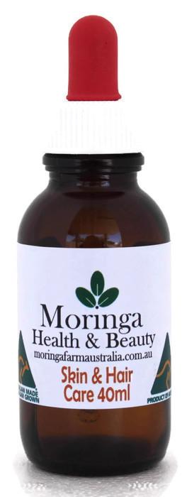 AUSTRALIAN Moringa SKIN CARE Hair Care 40ml - Pure Moringa seed oil