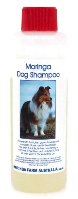 AUSTRALIAN Moringa DOG (Pet) CONCENTRATED SHAMPOO 235ml