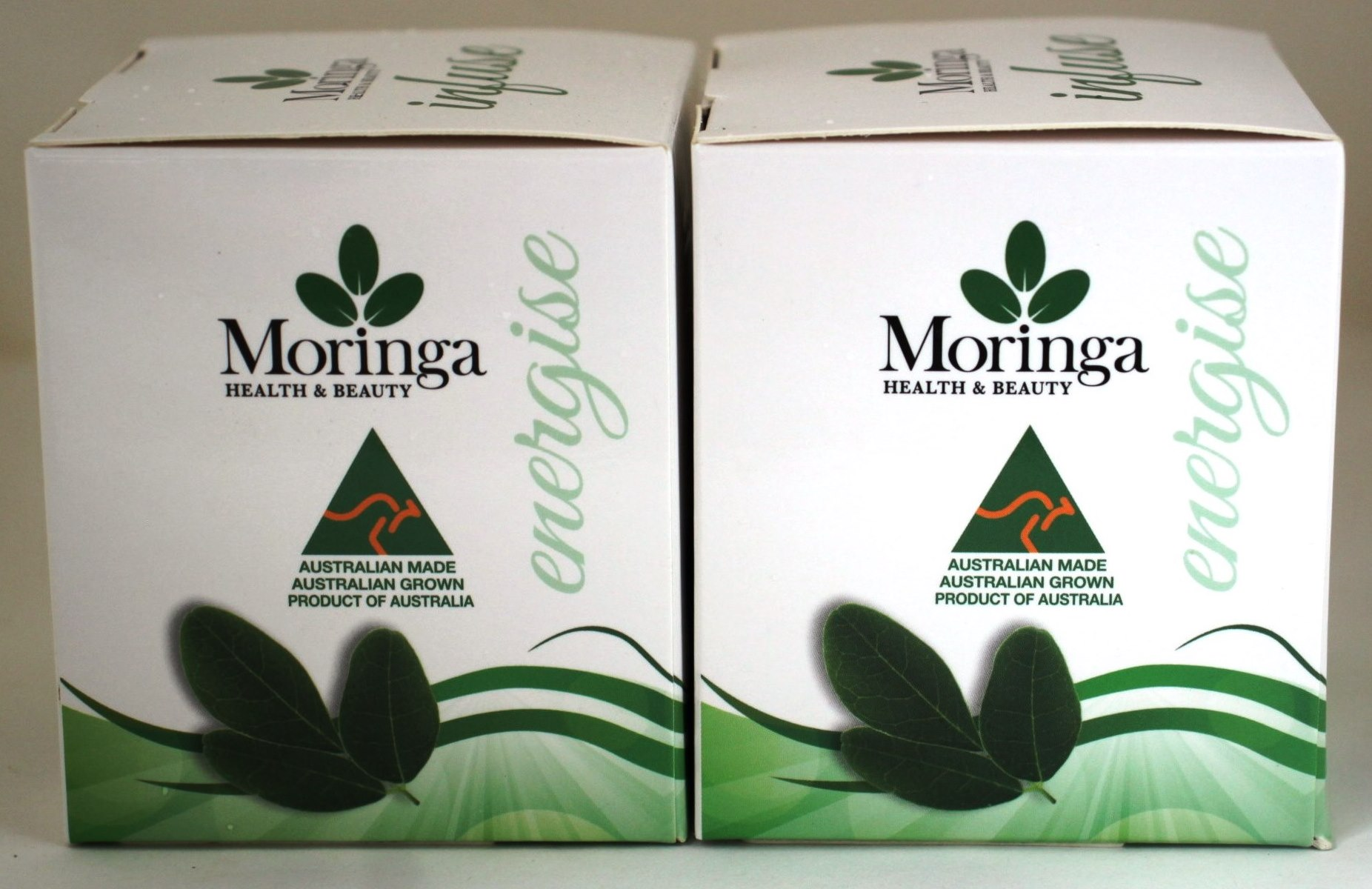 Moringa TEA BAGS. MORINGA LEAF with PEPPERMINT X 2 Boxes - 24 bags