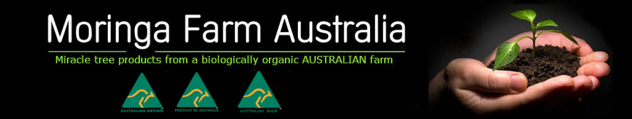 Australian Grown & Made Moringa – Shop here