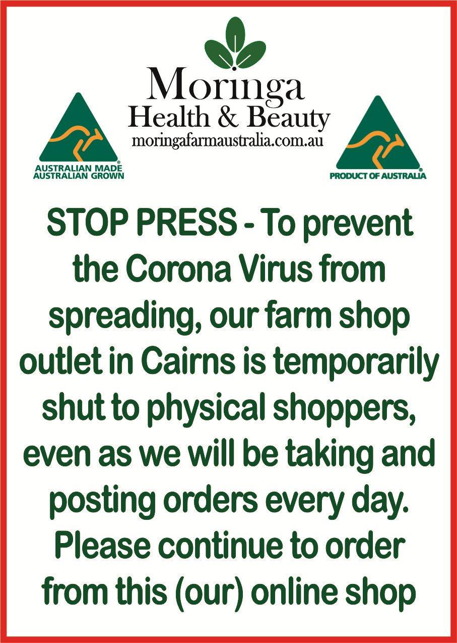 STOP PRESS - Stop Corona Virus Spreading
