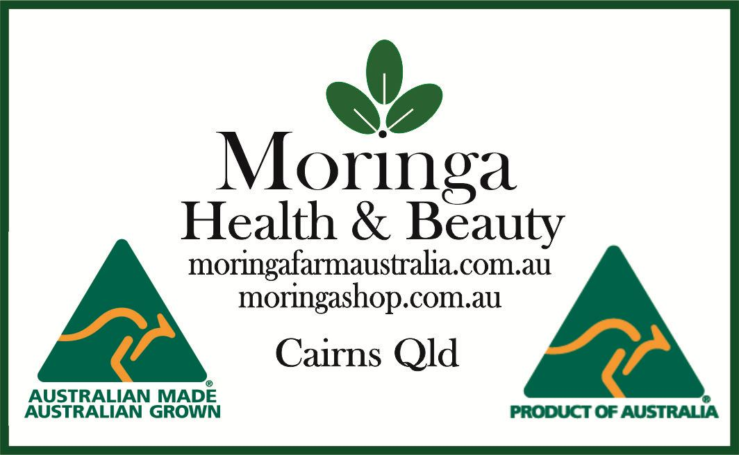 AUSTRALIAN Moringa concentrated Drops for NUTRIENT ENERGY Drinks 190ml, Made To Order
