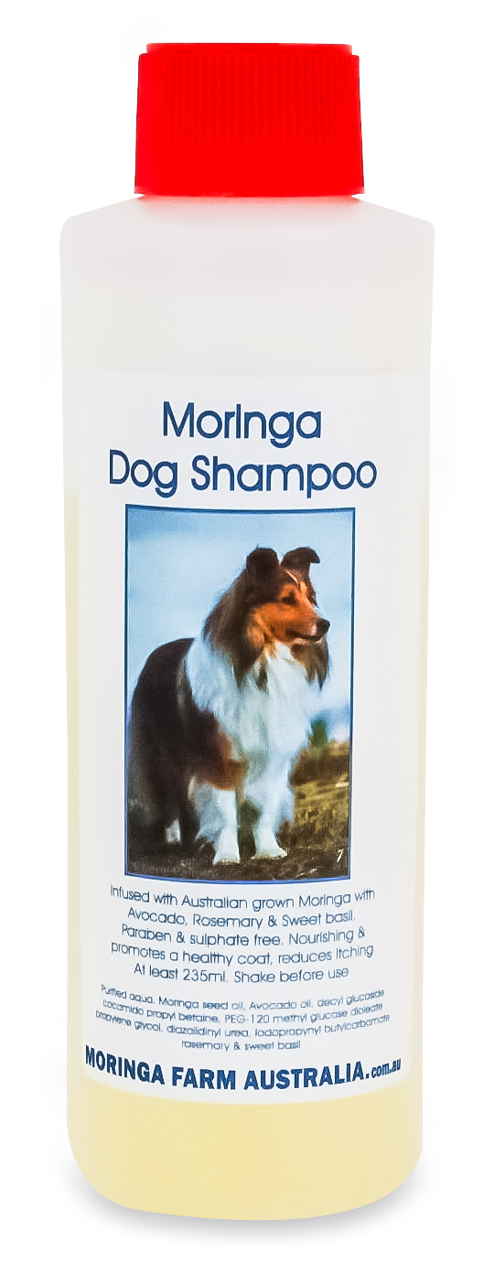 AUSTRALIAN Moringa DOG (Pet) CONCENTRATED SHAMPOO 235ml