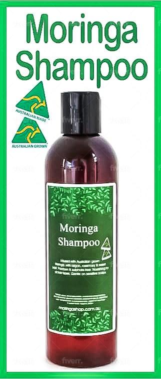 AUSTRALIAN Moringa HAIR SHAMPOO 240ml